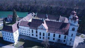 Rheinau 360° Panorama Luftaufnahmen mit modernen Kameradrohnen