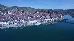 Stein am Rhein 360° Panorama Luftaufnahmen mit modernen Kameradrohnen