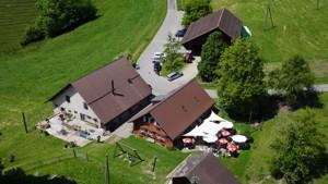 Alp Schnurrberg 360° Panorama Luftaufnahmen mit modernen Kameradrohnen